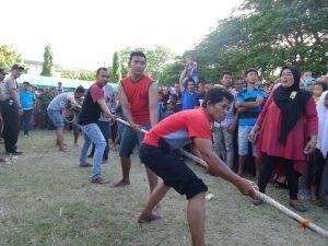 Lomba Tarik Tambang Baiturrahman Expo